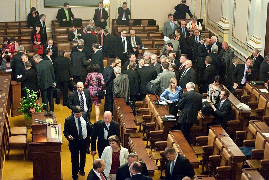 Czech Parliament, photo: archive of Czech Radio