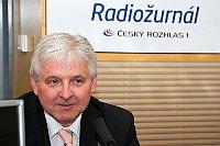 Jiří Rusnok (Foto: Alžběta Švarcová, Archiv des Tschechischen Rundfunks)
