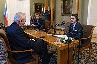 Michael Rozsypal (rechts). Foto: Khalil Baalbaki, Archiv des Tschechischen Rundfunks