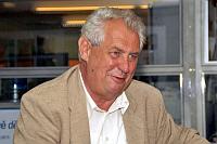 Miloš Zeman, photo: Šárka Ševčíková