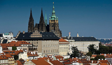 Prague Castle, photo: Filip Jandourek