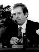 Václav Havel, photo: archive of Czech Radio