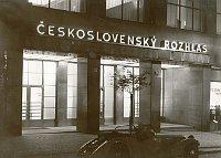 Czechoslovak Radio building in Prague in 1930s, photo: archive of Czech Radio