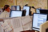 News-Room (Foto: Khalil Baalbaki, Archiv des Tschechischen Rundfunks)