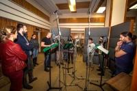 Natáčení muzikálu O chytrém, ale prolhaném zloději Bajcůrovi (Foto: Kateřina Havlíková)