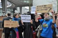 Na happening se dostavili i aktivisté z Česka (Foto: Ondřej Houska)