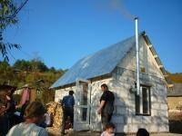 Postavený domek v ukrajinské Svaljavě pro Máriu a Máriu (Foto: Tomáš Jelen)
