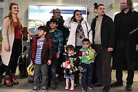 First group of Iraqi refugees in Prague, photo: Filip Jandourek