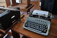La máquina de escribir de Bohumil Hrabal, foto: Filip Jandourek