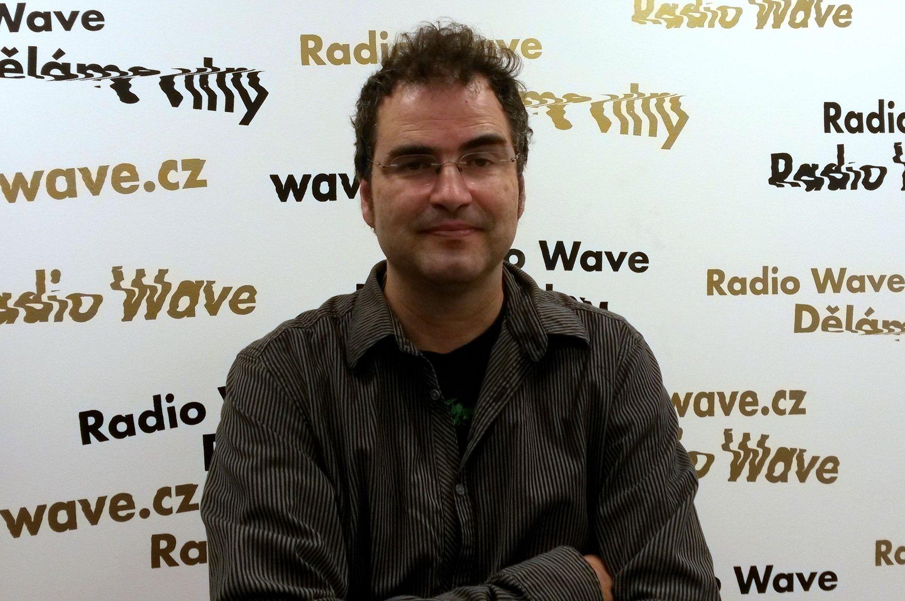 Marek Toman, photo: Karolína Demelová / Czech Radio
