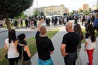 Nepokoje v Českých Budějovicích (Ilustrační foto: Filip Jandourek, Český rozhlas)