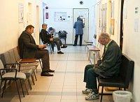 Čekárna v nemocnici (Foto: Filip Jandourek, Český rozhlas)