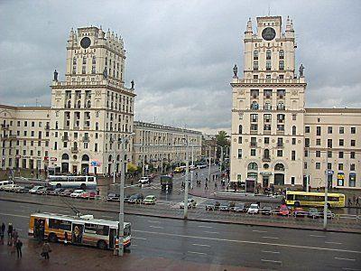 Минск, столица страны, где правит «мощный клан» (Фото: Павел Новак, Чешское радио)
