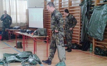 Урок правил поведения в чрезвычайных ситуациях в наше время, Фото: Габриэла Гауптфоглова, Чешское радио