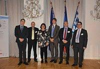 Hannes Lachmann, Jan Lontschar, Dorothee Jäckering, Michal Urban, Thomas Rudner und Matthias Fack (Foto: Archiv Tandem)