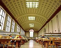UC Berkeley library, photo: archive of the university
