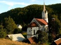 Kostel v obci Valkovňa (Foto: www.obecvalkovna.szm.com)