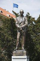 Beneš-Statue (Foto: EDU-ART Prag)