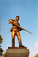 111th NY Infantry Monument, Gettysburg, photo: Einar Einarsson Kvaran, CC 3.0 license