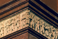 Pension Building Frieze, Washington, D.C., photo: Einar Einarsson Kvaran, CC 3.0 license