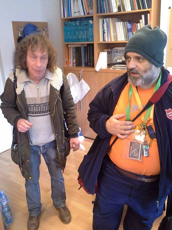Бездомные, принявшие участие в проекте HOBOhemia, Фото: официальный фейсбук проекта HOBOhemia
