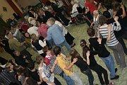 Z tanečního workshopu Česká beseda, foto: Facebook Domova sv. Karla Boromejského