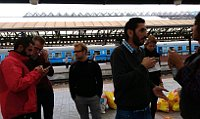 Photo: Facebook de Chci pomoci uprchlíkům na Hlavním nádraží v Praze!