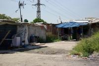 Sociálně vyloučená lokalita v Madridu (Foto: www.romplan.cz)