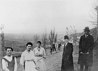 Franz Kafka in Siřem, photo: Facebook of the Kafka on holiday project