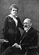 K. Klostermann mit Gattin 1916 (Quelle: www.sumavanet.com)