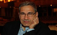 Orhan Pamuk, photo: Greg Salibian