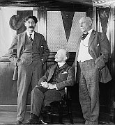 Ernest Thompson Seton, Robert Baden-Powell, Dan Beard, photo: Public Domain