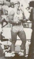 La lancer du poids tchécoslovaque Remigius Machura, photo: La Fédération tchèque d'Athlétisme
