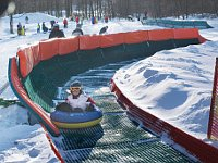 El snow tubing