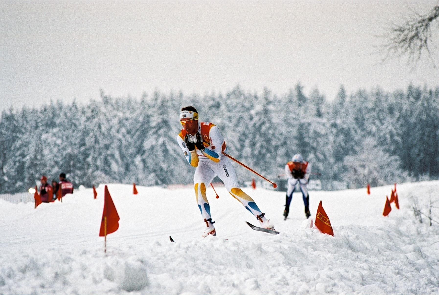 Langlauf-Weltcuprennen in Nové Město na Moravě (Foto: Oskar Karlin, Flickr, CC BY-SA 2.0)