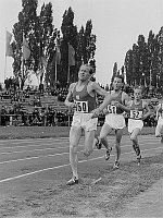 Emil Zátopek, photo: Roger Rössing, Deutsche Fotothek, CC BY-SA 3.0 Unported