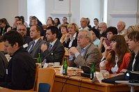 Konferenz der Landesversammlung (Foto: Archiv der Landesversammlung der Deutschen in Böhmen, Mähren und Schlesien)