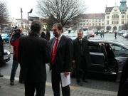 Ministr Radek John v Novém Bydžově (Foto: www.novybydzov.cz)