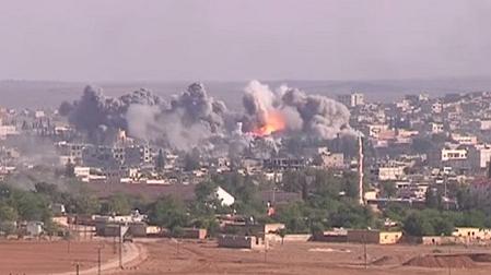 Kampf um Kobanê gegen den sogenannten Islamischen Staat (Foto: YouTube)