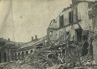 Bombardování v Kralupech nad Vltavou (Foto: Archiv Okresního archivu v Kralupech nad Vltavou)
