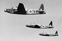 Three Wellington Mk ICs of No. 311 (Czechoslovak) Squadron RAF