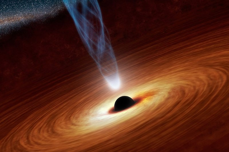 Black hole, photo: NASA
