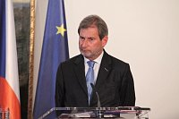 Johannes Hahn, photo: archive of the Czech Government