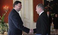 Petr Nečas und Petr Fiala (Foto: Archiv des Regierungsamtes der Tschechischen Republik)