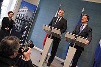 Petr Nečas und Mark Rutte (Foto: Archiv des Regierungsamtes der Tschechischen Republik)