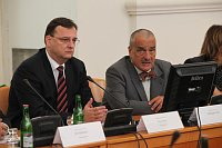 Petr Neas a&nbsp;Karel Schwarzenberg (vpravo), foto: Vlda R