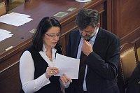 Miroslava Němcová y Jan Kubice. Foto: Archivo del Gobierno checo