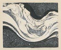 František Kupka, 'Division et rythme de l'histoire (Vague)', 1904-1905 / Centre tchèque de Paris