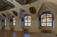 Instalace Woo-ri v refektáři dominikánského kláštera  u sv. Jiljí v Praze (Foto: Petr Neubert)