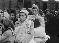 Women selected for slave labour, photo: archive of Jewish Museum in Prague